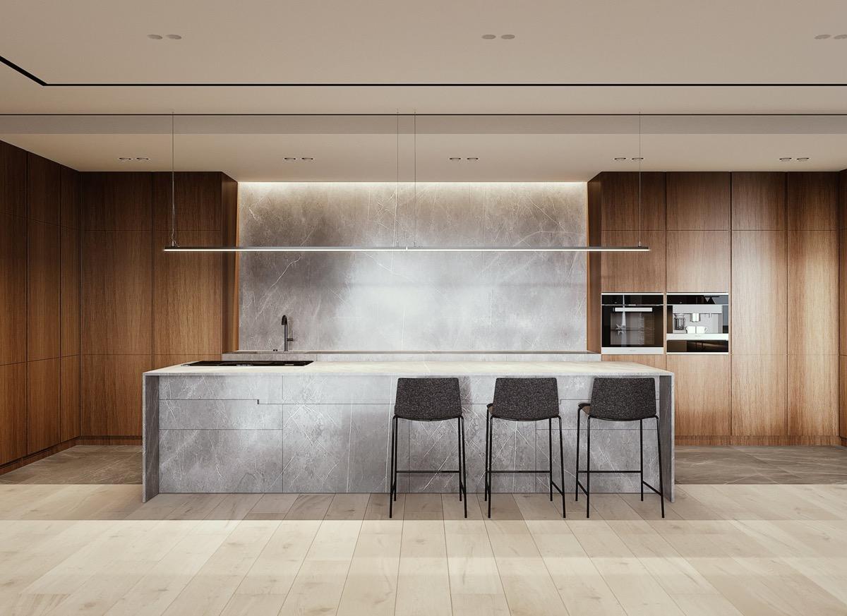50 Mẫu tủ bếp sang trọng và phản chiếu tính cách của chủ nhân.  22