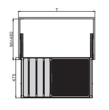 Gía treo quần với rổ đa năng Imundex 7903005/105  2