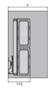 Gương xoay âm tủ Imundex 7908003/103  3