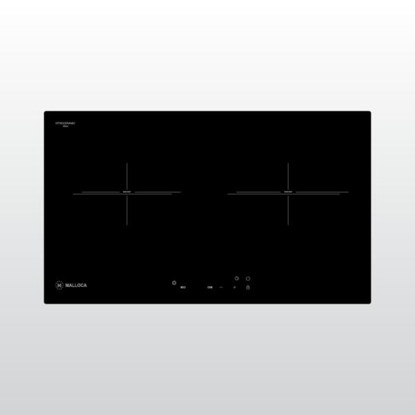 Bếp kính âm 2 vùng điện Malloca MH-732 ER