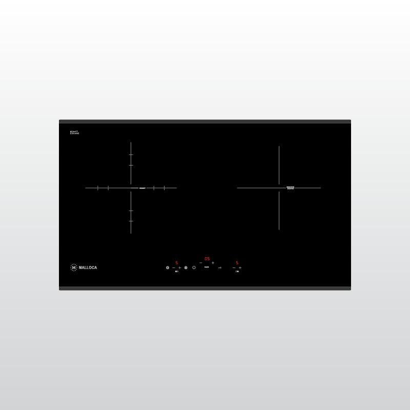 Bếp kính âm 1 điện 1 từ Malloca MIR 772