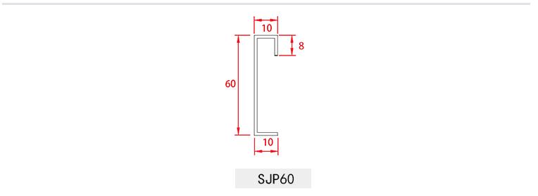Nẹp len chân tường inox 304 nhiều màu SJP60 8