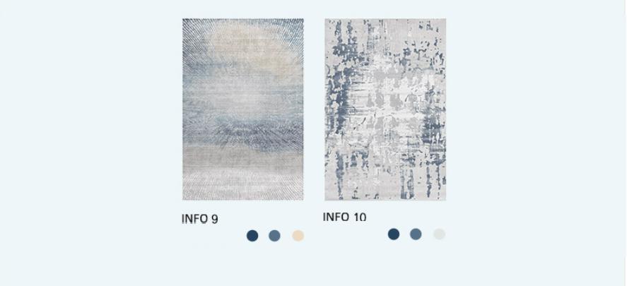 Thảm trang trí phòng khách cotton lông ngắn SHS001 26