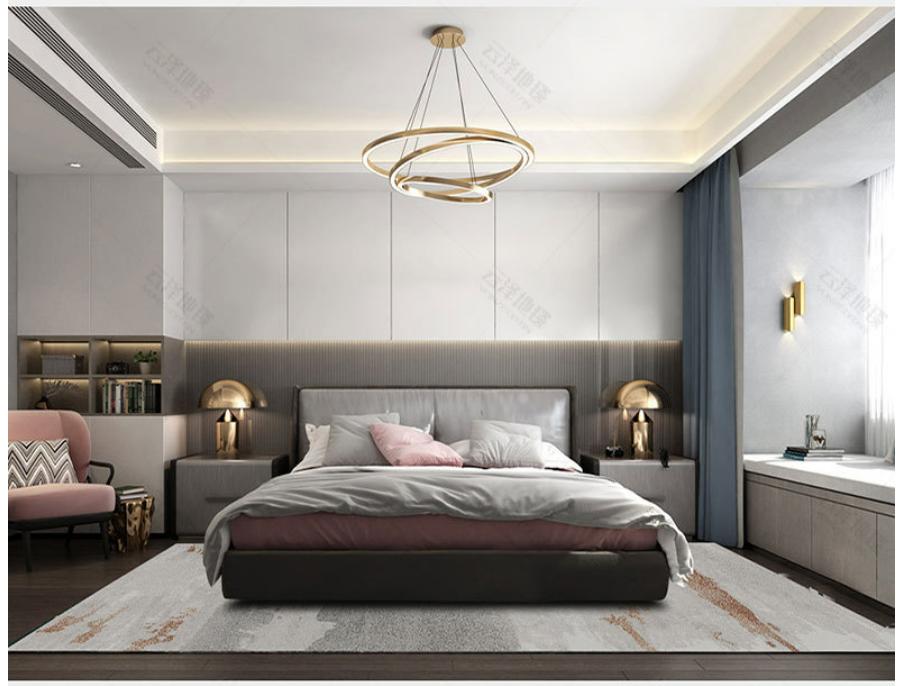 Thảm trải sàn phòng ngủ Turkey Bắc Âu sang trọng TYC1120 5