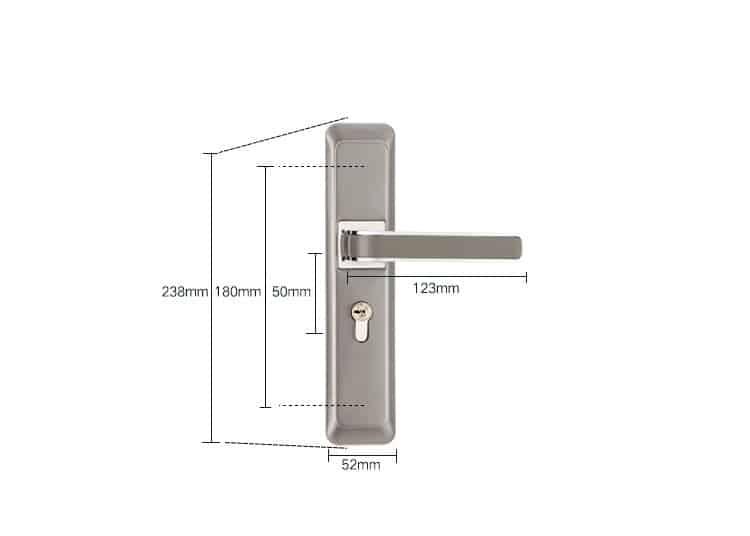 Bộ khóa cửa giá rẻ dành cho cửa phòng MG219 10